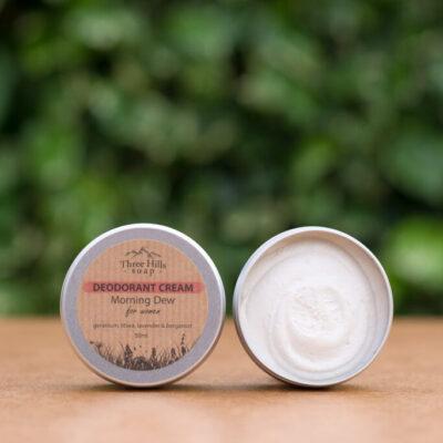 Three-hills-soap-Deodorant-Cream-for-Woman-morning-dew-kreemdeodorant-hommikune-kaste-naistele