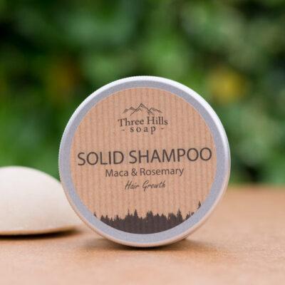 three-hills-soap-juuksekasvu-soodustav-tahke-šampoon-maca-rosmariin-solid-shampoo-for-hair-growth