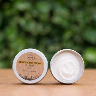 three-hills-soap-deodorant-cream-go-fresh-unisex-kreemdeodorant-värskus