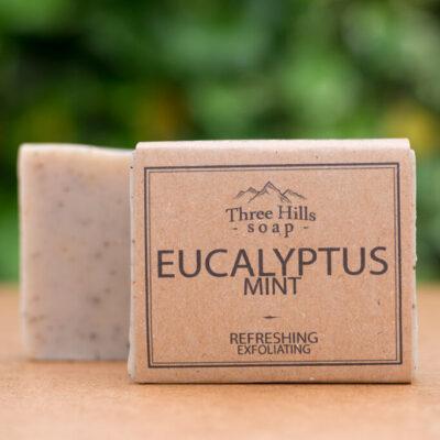 THS-122-three-hills-soap-kooriv-eukalüpti-mündiseep-exfoliating-eucalyptus-mint-soap