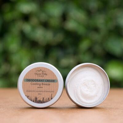 three-hills-soap-natural-deodorant-cream-cooling-breeze-jahutav-tuuleiil-unisex-kreeddeodorant