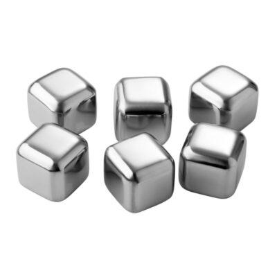 2286-pulito-metallist-jaakuubikud-stainless-steel-ice-cooling-cubes