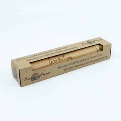 CURCTJ-curanatura-laste-bambusest-hambaharjavutlar-kids-bamboo-toothbrush-travel-case
