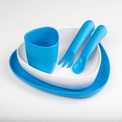 E100102-ekoala-toidunoude-komplekt-valge-sinine-childrens-dinner-set