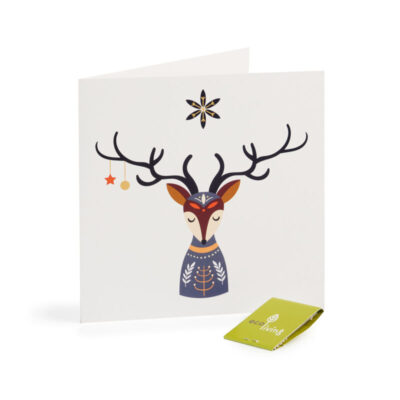 EL-F-DEER-ecoliving-kaart-postcard