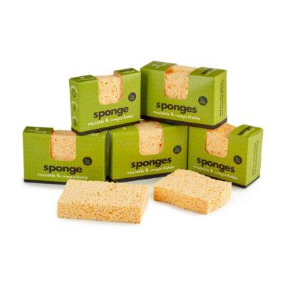 ecoliving-nõudepesušvamm-2-tk-dish-washing-sponge