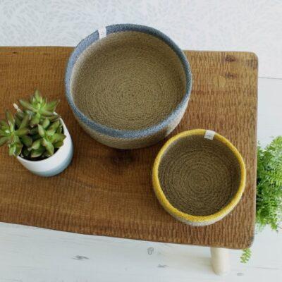redecker-jutest-korv-värvilise-äärega-jute-bowl