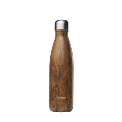 QD3084-qwetch-roostevabast-terasest-termospudel-puidumustriga-500-ml-stainless-steel-insulated-bottle