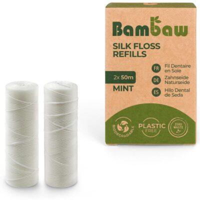 bambaw-siidist-hambaniidi-täidisrullid-Floss-Silk-Refills