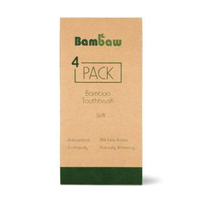 Bambaw-bambusest-hambahari-pehmete-harjastega-pakk-bamboo-toothbrush-pack