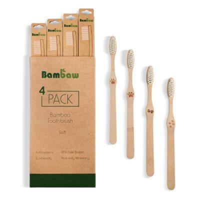 Bambaw-bambusest-hambahari-pehmete-harjastega-pakk-bamboo-toothbrush-pack-soft