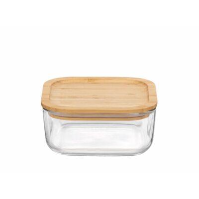 Pulito-Frigoverre-klaasist-toidukarp-bambusest-kaanega-glasskale-bamboo_15cm