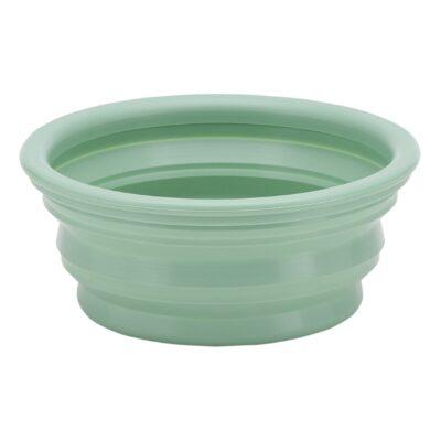 Hevea-naturaalsest-kummist-lemmiklooma-kauss-Bowl-On-the-Go-Pale-mint-mündiroheline